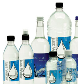 Image of the range of bottles available